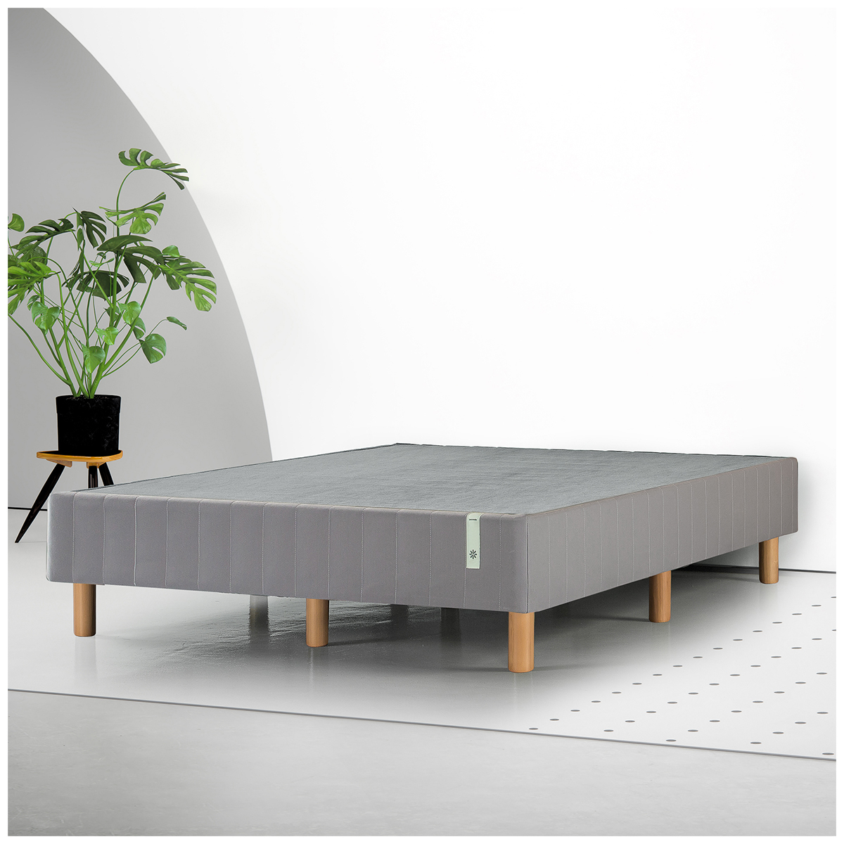 Blackstone Standing Smart Box Spring Double Bed Base Grey image 5