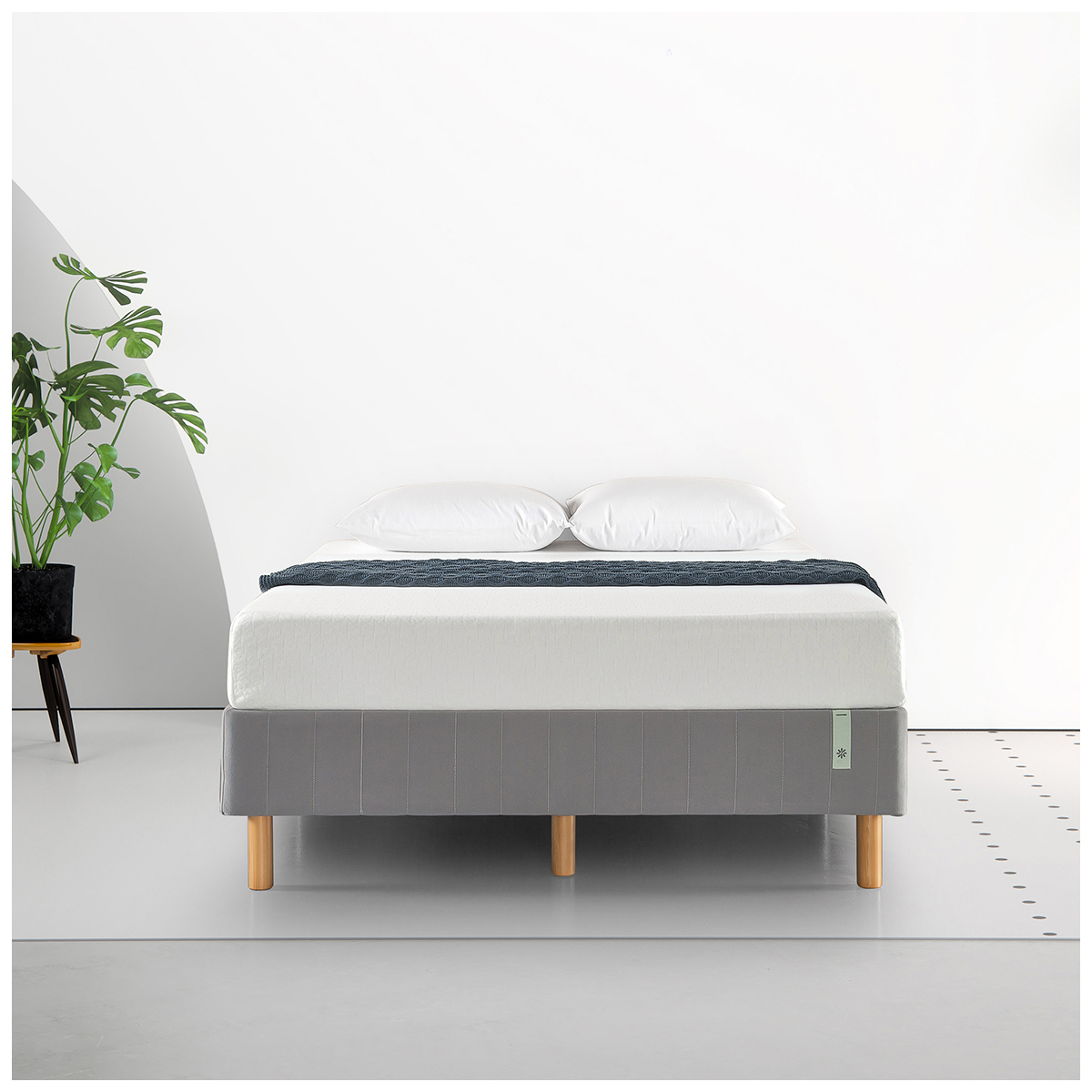 Blackstone Standing Smart Box Spring Double Bed Base Grey image 6