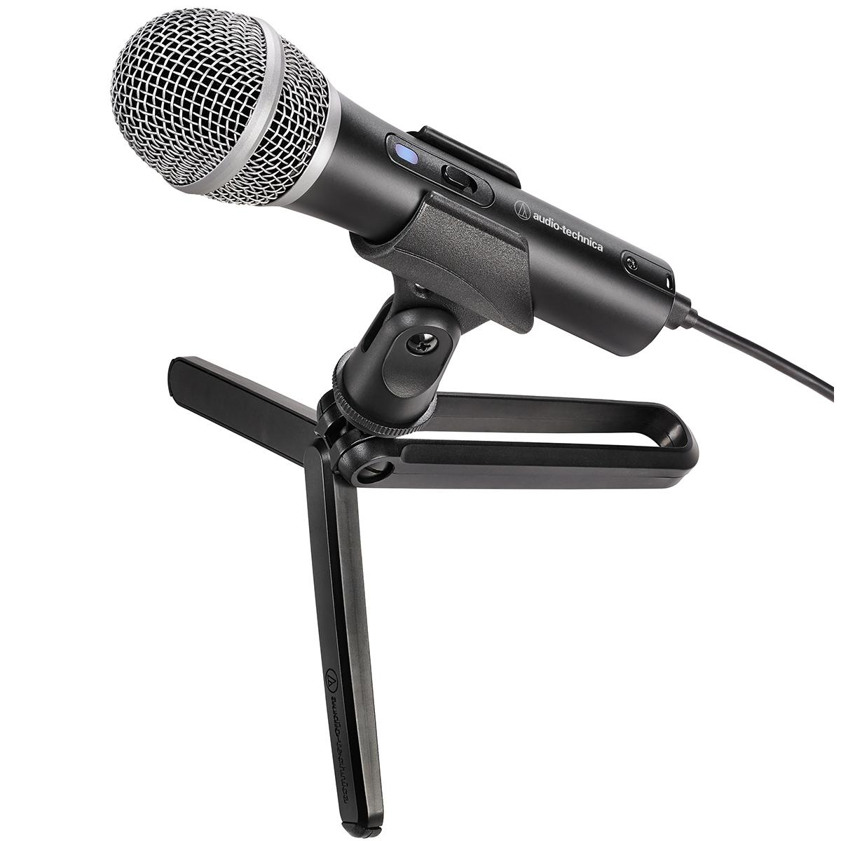 Audio-technica Headphone + USB Microphone Bundle ATR2100X/ATH-S100 image 5