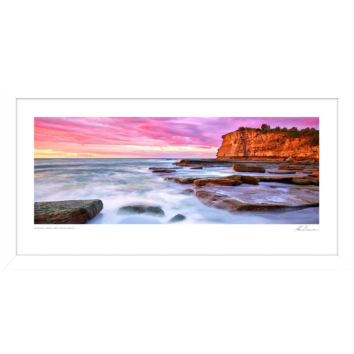 Ken Duncan Terrigal Dawn Framed Print image 1